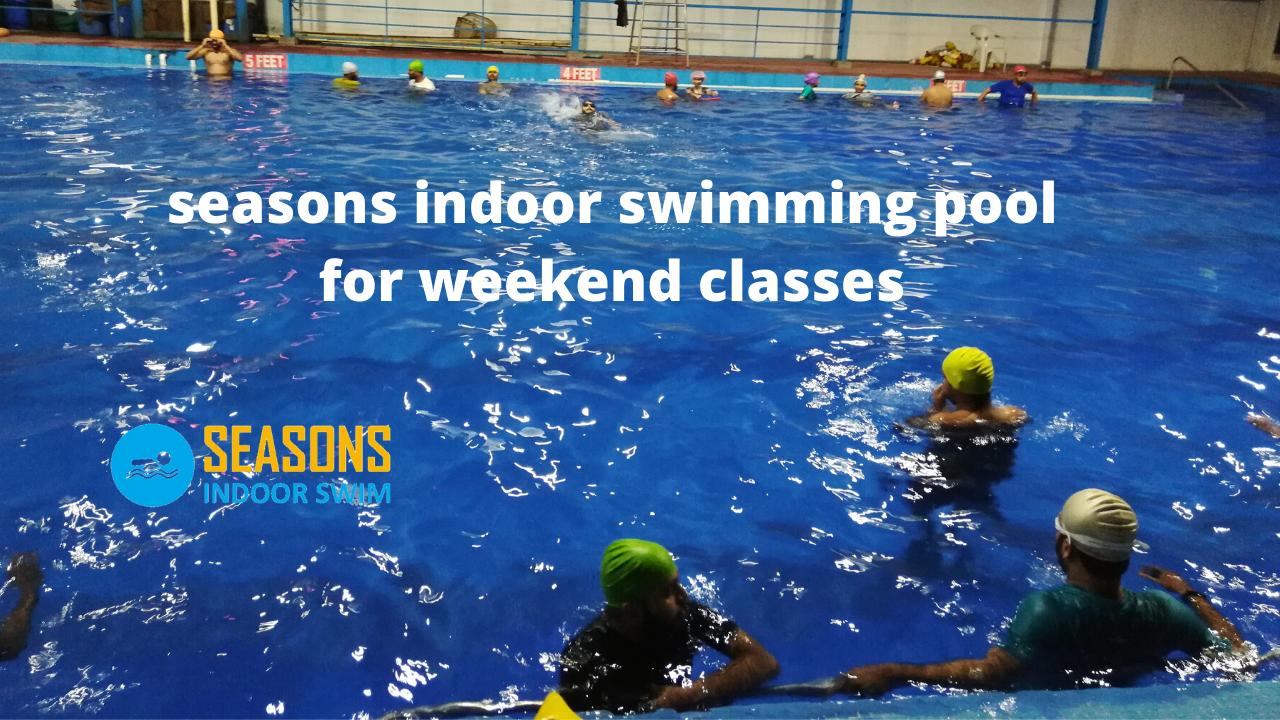 seasons indoor swimming pool for weekend classes