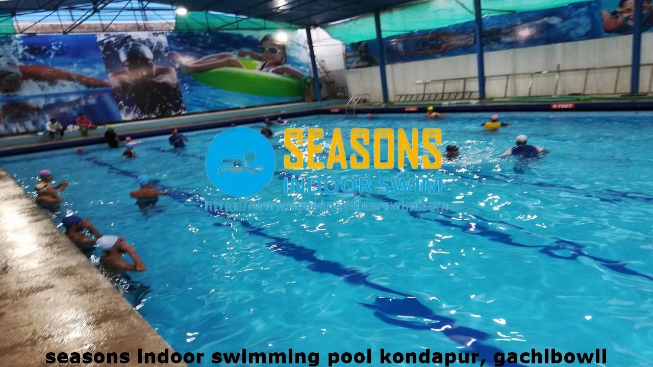 Seasons indoor swimming pool in Serilingampally