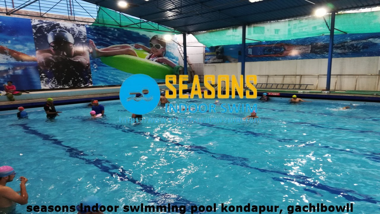 Seasons indoor swimming pool near by Gachibowli