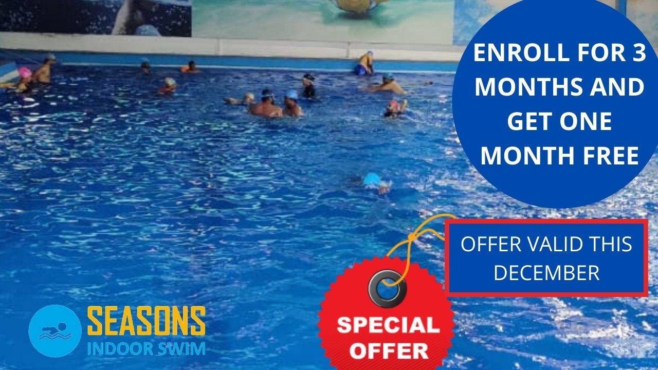 temperature controlled indoor swimming pool located in Kondapur